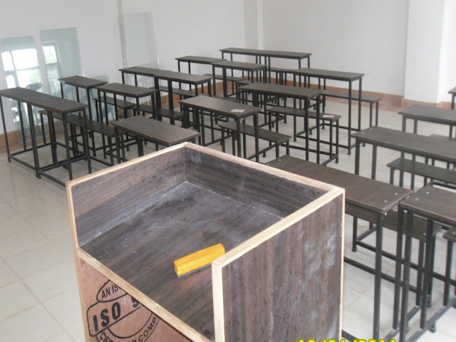 A Front View of Class Room