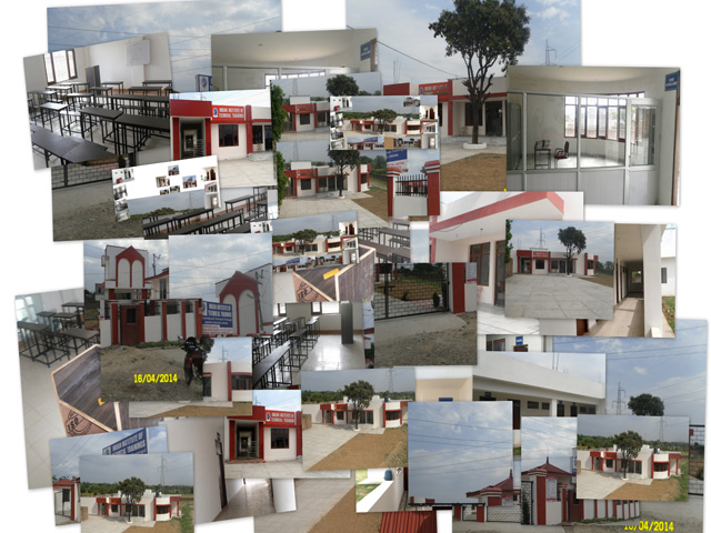 Collage of Photographs of IIT-T Complex
