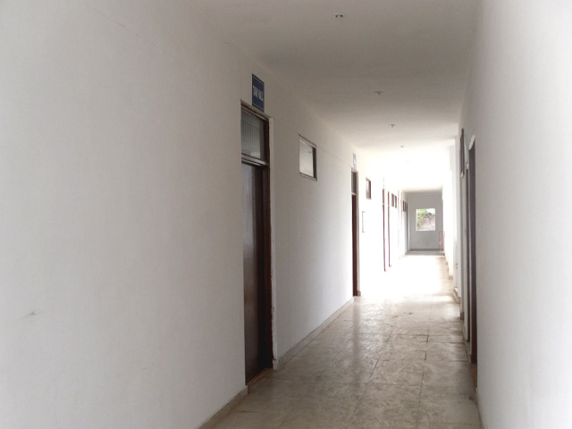 Corridor leading to Class Rooms