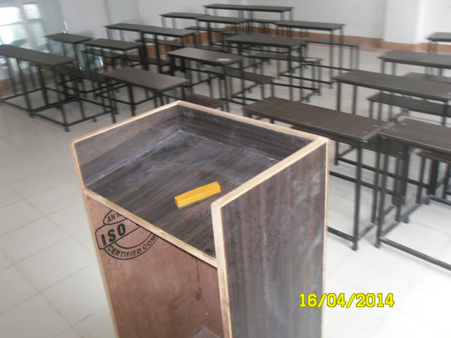 Front view of another class room